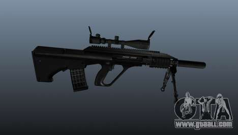 Automatic rifle Steyr AUG3 for GTA 4 third screenshot