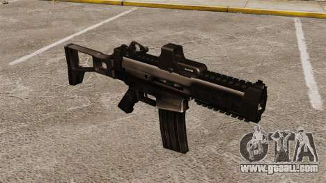 Automatic Crius SMG v2 for GTA 4