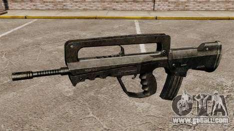 Assault Rifle FAMAS for GTA 4 third screenshot