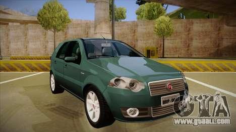 FIAT Palio ELX 2010 for GTA San Andreas