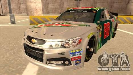 Chevrolet SS NASCAR No. 88 Diet Mountain Dew for GTA San Andreas