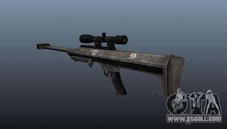 Barrett M99 sniper rifle for GTA 4 second screenshot