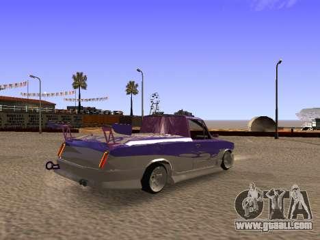 Vaz 2102 Fun DRFT for GTA San Andreas back left view