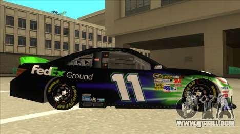 Toyota Camry NASCAR No. 11 FedEx Ground for GTA San Andreas back left view
