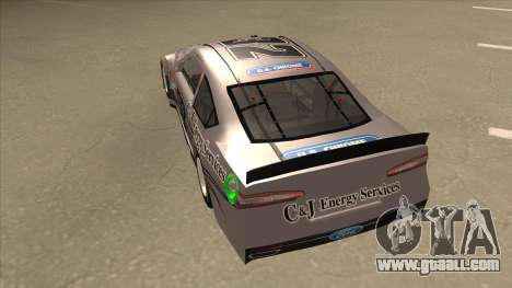 Ford Fusion NASCAR No. 32 C&J Energy services for GTA San Andreas back view