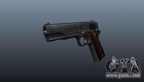 Pistol M1911 v4 for GTA 4