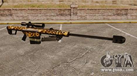 The Barrett M82 sniper rifle v9 for GTA 4