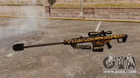 The Barrett M82 sniper rifle v12 for GTA 4 third screenshot