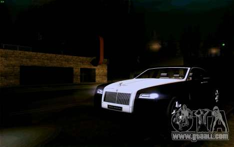 Rolls-Royce Ghost for GTA San Andreas side view