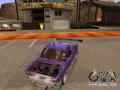 Vaz 2102 Fun DRFT for GTA San Andreas inner view