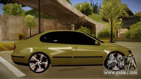 Seat Toledo German Style for GTA San Andreas back left view