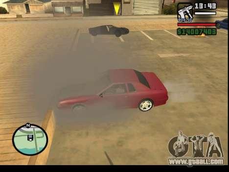 GTA V to SA: Burnout RRMS Edition for GTA San Andreas fifth screenshot