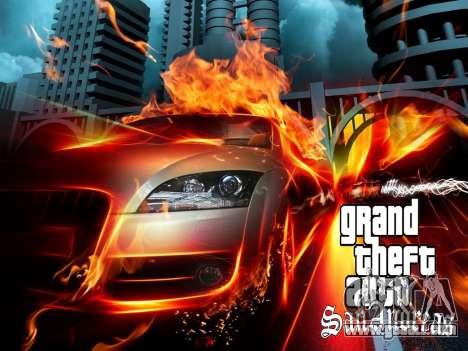 New loading screens for GTA San Andreas forth screenshot