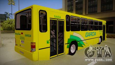 Busscar Urbanus SS Volvo B10 M garcia for GTA San Andreas right view