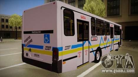 Busscar Urbanuss Ecoss MB OF 1722 M Porto Alegre for GTA San Andreas right view