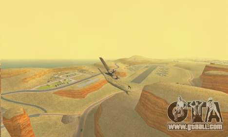 Hercules GTA V for GTA San Andreas back view