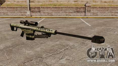 The Barrett M82 sniper rifle v6 for GTA 4
