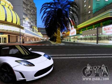 Tesla Roadster Sport 2011 for GTA San Andreas left view