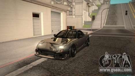 Mazda RX-7 STANCENATION for GTA San Andreas left view