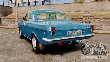 Gaz-2410 Volga v3 for GTA 4 back left view