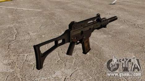 HK G36C assault rifle v2 for GTA 4 second screenshot