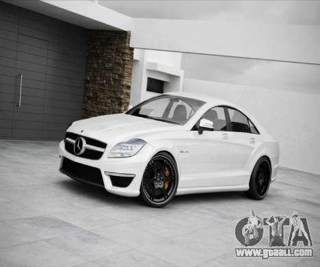 Loading screens Mercedes-Benz for GTA 4 eighth screenshot
