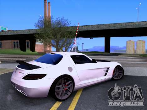 Mercedes-Benz SLS AMG GT 2014 Final Edition for GTA San Andreas left view