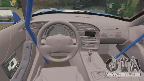Chevrolet Corvette C4 1996 v2 for GTA 4 inner view