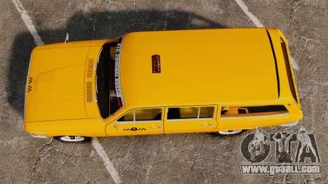 Gaz-24-02 Volga Taxi for GTA 4 right view