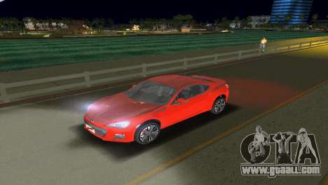 Subaru BRZ Type 1 for GTA Vice City side view