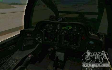 AH-64 Apache for GTA San Andreas side view