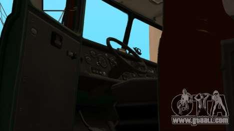 Truck driving school v. 2.0 for GTA San Andreas bottom view