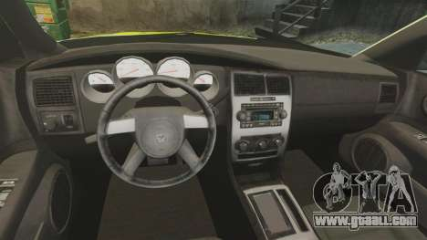 Dodge Magnum West Coast Customs for GTA 4 back view