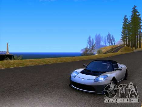 Tesla Roadster Sport 2011 for GTA San Andreas side view
