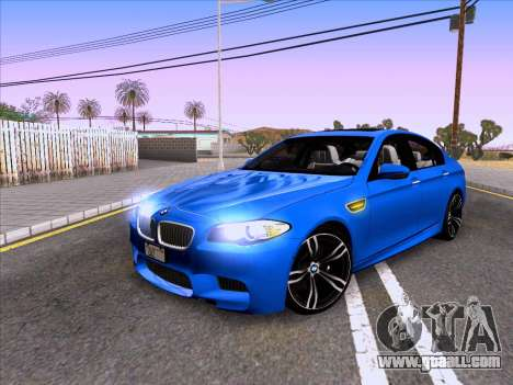 BMW M5 F10 2012 Autovista for GTA San Andreas