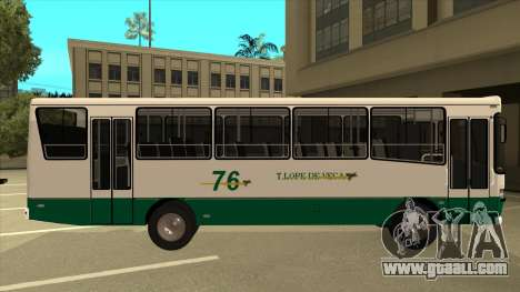 Mercedes-Benz OHL-1320 Linea 76 for GTA San Andreas back left view