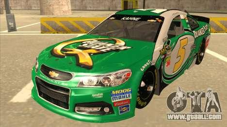 Chevrolet SS NASCAR No. 5 Quaker State for GTA San Andreas