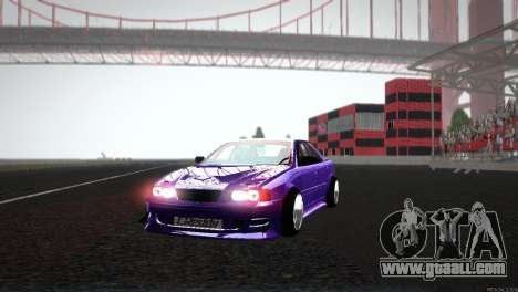 Toyota Chaser Tourer V for GTA San Andreas side view