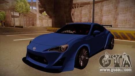 Scion FR-S Rocket Bunny for GTA San Andreas