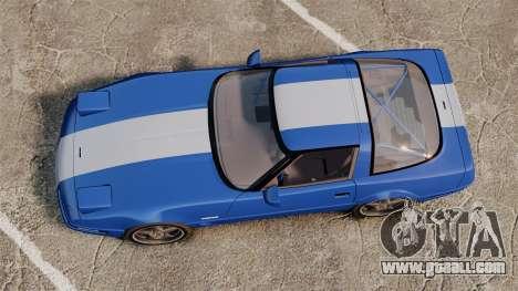 Chevrolet Corvette C4 1996 v2 for GTA 4 right view