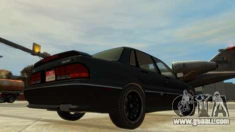 Mitsubishi Galant for GTA 4 right view