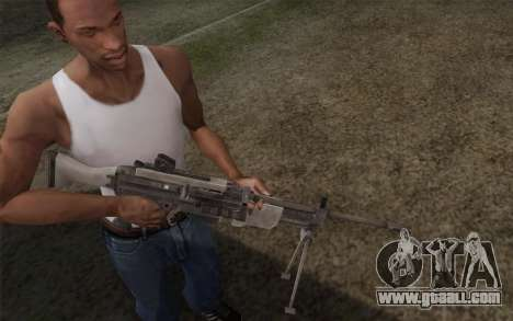 Military gun for GTA San Andreas second screenshot