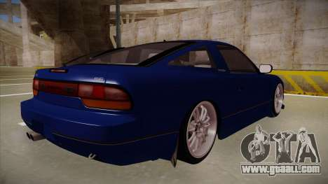 Nissan 240sx JDM style for GTA San Andreas right view
