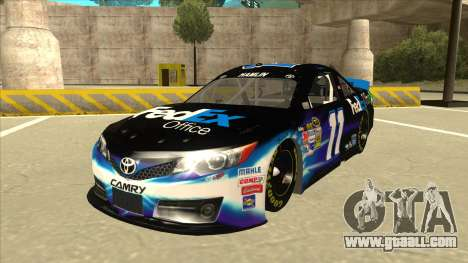 Toyota Camry NASCAR No. 11 FedEx Office for GTA San Andreas