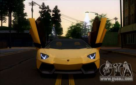 Lamborghini Aventador Vossen V2.0 Final for GTA San Andreas