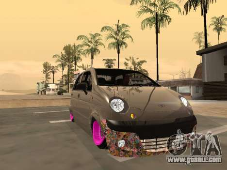 Daewoo Matiz Mexi Flush for GTA San Andreas