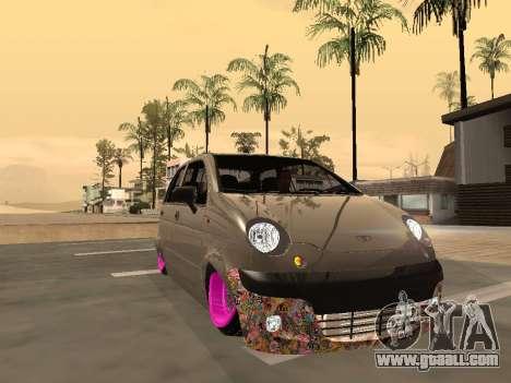Daewoo Matiz Mexi Flush for GTA San Andreas