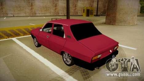 Dacia 1310 Berlina Tuning for GTA San Andreas back view