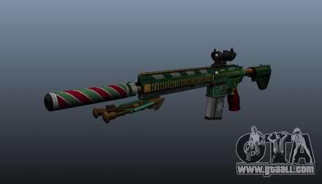 HK417 rifle v3 for GTA 4