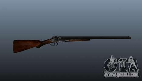 Double barrel shotgun for GTA 4 third screenshot